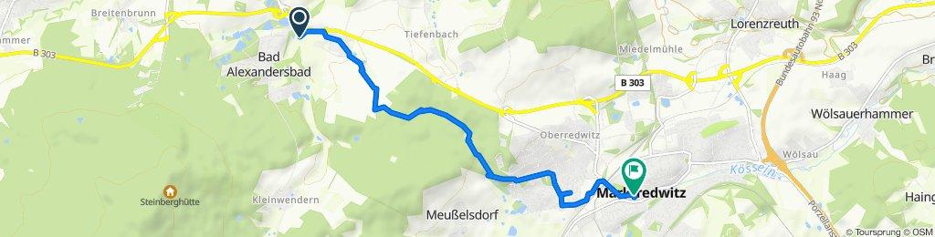 Steady ride in Marktredwitz