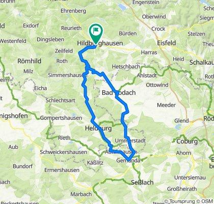 2020-07-11: Hildburghausen - Gemünda