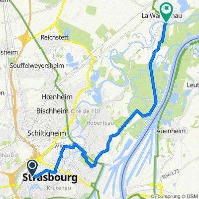 Strassburg N (Wantzenau)