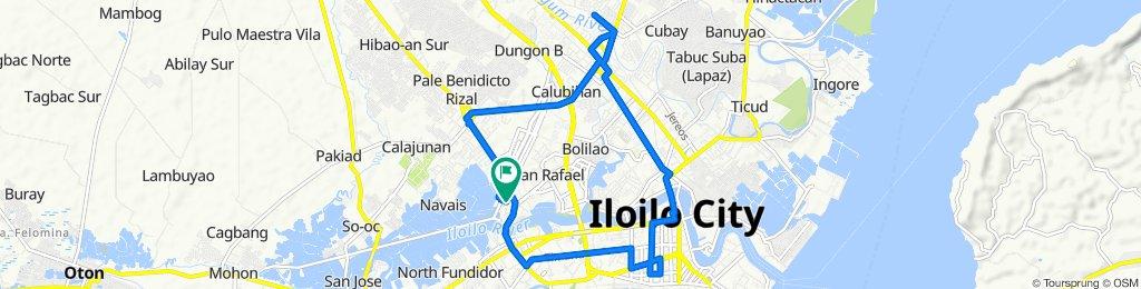 R. Mapa Street 103, Iloilo City to R. Mapa Street 103, Iloilo City