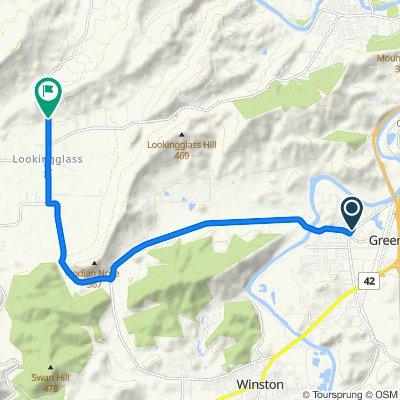 Carnes Road 3750, Roseburg to Colonial Road 604, Roseburg