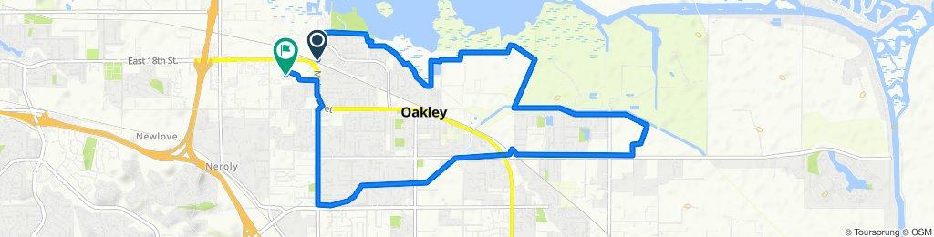 De Beringer Way 1921, Oakley a Carol Lane 53, Oakley
