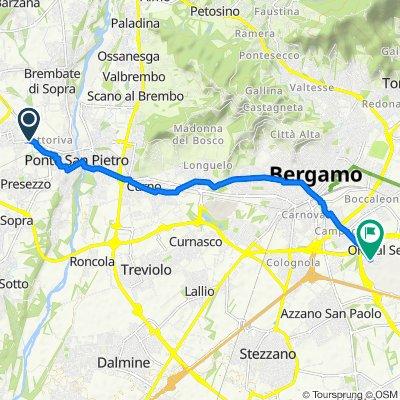 Da Via Cristoforo Colombo 24/F, Ponte San Pietro a Via Cristoforo Colombo 24, Orio al Serio