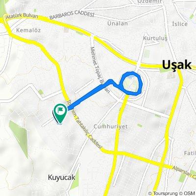 Easy ride in Uşak