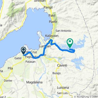 Unnamed Road, Santa Cruz to Unnamed Road, Lumban