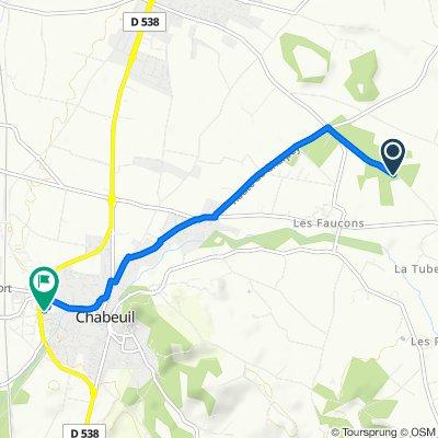De 785 Chemin du Grand Lierne, Châteaudouble à 2 Rue Marius Chatte, Chabeuil