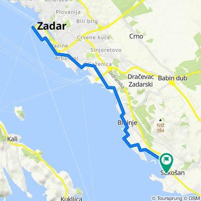 Sukošan - Zadar - Sukošan