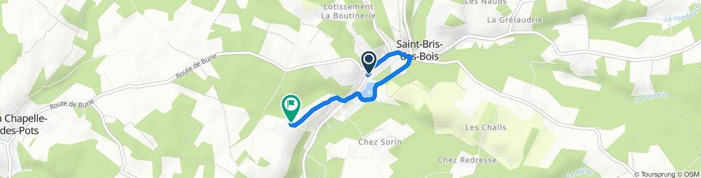 Easy ride in Saint-Césaire