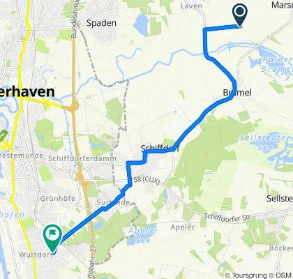 Steady ride in Bremerhaven