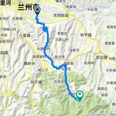Lanzhou to Leijia