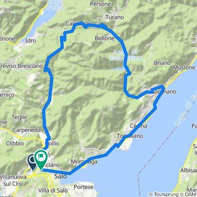 Bergrunde Vobarno-Valvestino 62km1400Hm