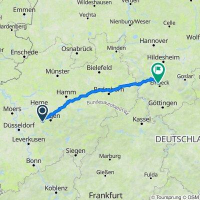 525. Lippetal, Altenbeken und Weserbergland