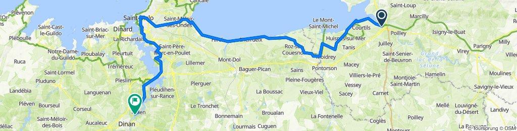 4 - Pontaubault - Saint Malo - Taden-Dinan