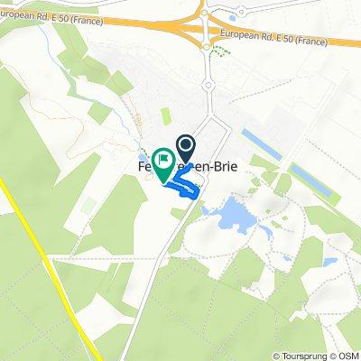 Steady ride in Ferrières-en-Brie
