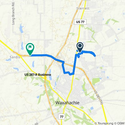 Country Meadows Boulevard 151, Waxahachie to Highway 287, Waxahachie