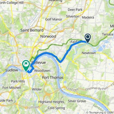 Restful route in Covington