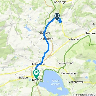 Farm Road, Perth to 33 Swansacre, Kinross
