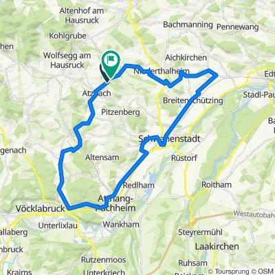 Friedenskreuz – Redlbach Furt Runde von Neukirchen bei Lambach