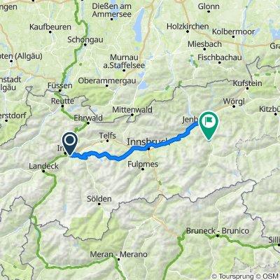 7. Karres - Kühtai - Ried im Zillertal