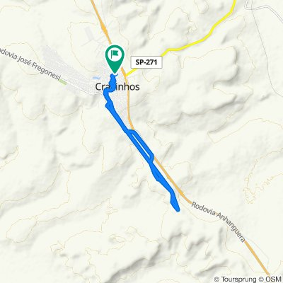 Rua Dona Inácia, 721–865, Cravinhos to Rua Dona Inácia, 721–865, Cravinhos