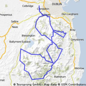Cycling routes and bike maps in and around Lucan Bikemap Your