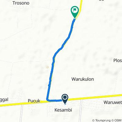Unnamed Road, Kecamatan Pucuk to Jalan Raya Pucuk - Brondong, Sekaran
