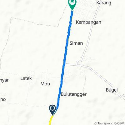 Jalan Raya Pucuk - Brondong, Sekaran to Jalan Raya Pangean 318, Sekaran