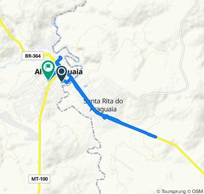 De Rua Guilherme Berigo, 1–121, Alto Araguaia a Rua Doutor José Norbeck, Alto Araguaia