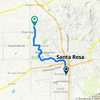 581 Arrowood Dr, Santa Rosa to 2312 Dancing Penny Way, Santa Rosa
