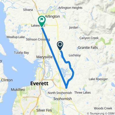 9610–9698 84th St NE, Arlington to 16512 Twin Lakes Ave, Marysville