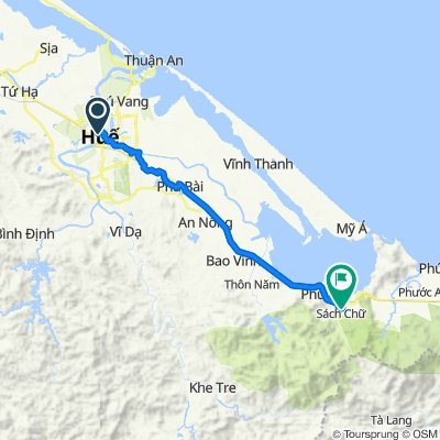 Hue to Bach Ma National Park