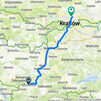 Lanckorona Kraków Żabiniec