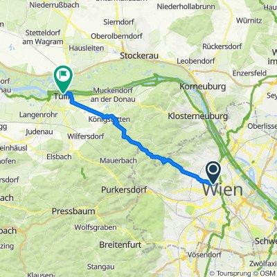 Wien -> Tulln über Excelberg