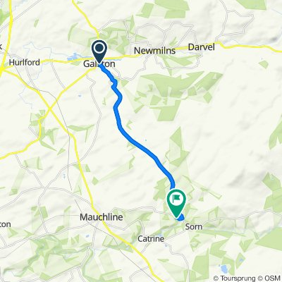 9–33 Wallace Street, Galston to Aston Cottage, Sorn Estate, Mauchline