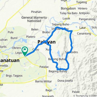 BANGAD-GUYABANO-TANAWAN-LAUR-BANGAD LOOP