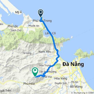 Chan May Port to Golden Bridge (Ba Na Hills)
