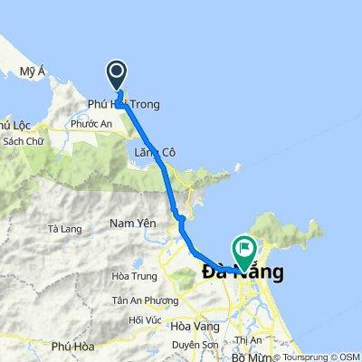 Chan May Port to Danang