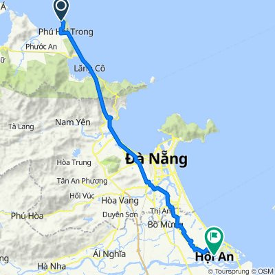 Chan May Port to Hoi An