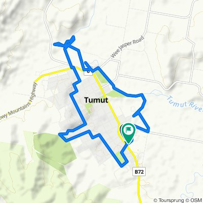 Tumut circuit (including wetlands and river)