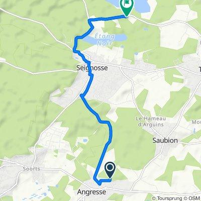 De 73 Impasse de l'Alios, Angresse à 2850 Route de l'Étang, Tosse