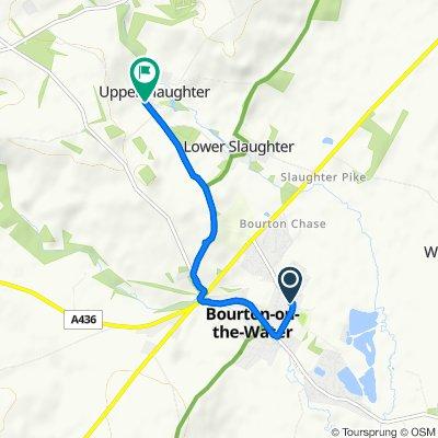 Moderate route in Cheltenham