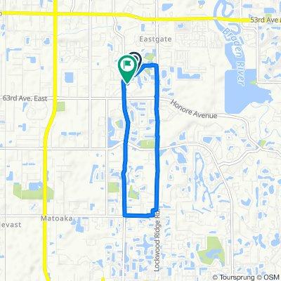 6100–6130 41st St E, Bradenton to 3906 61st Dr E, Bradenton