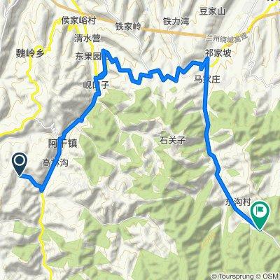 Day 2 Sunjiagou to Leijia