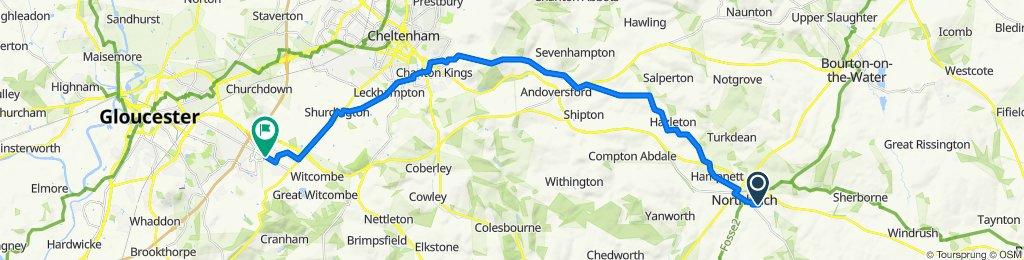 5 Rixon Road, Cheltenham to 1–15 Hillview Avenue, Gloucester