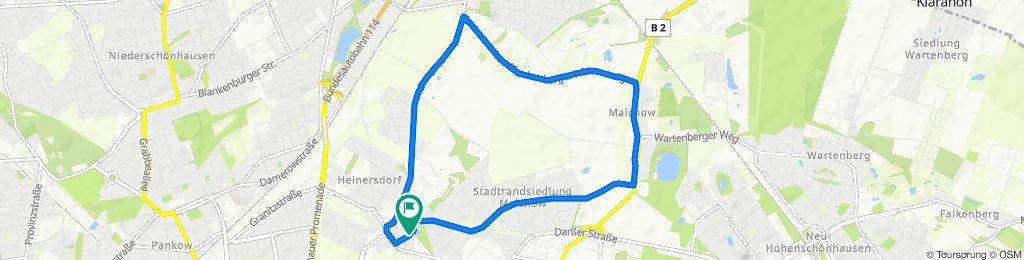 Restful route in Berlin