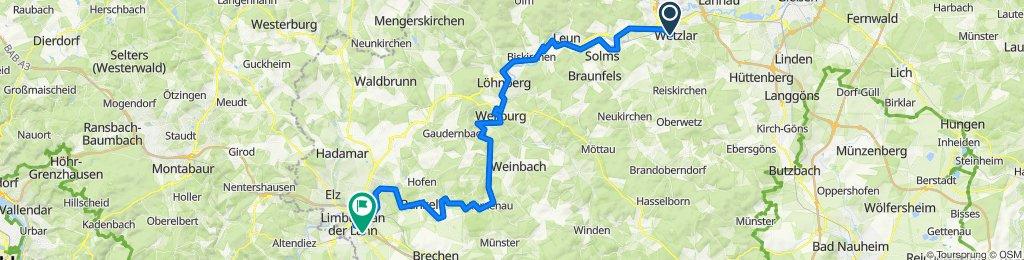 Silhöfertorstraße 2, Wetzlar nach Auf dem Guckucksberg, Limburg an der Lahn