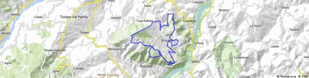 Monte Fuso - Percorso Verde