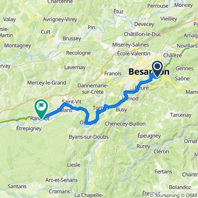 20200721 Day 5b - Besançon à Ranchot