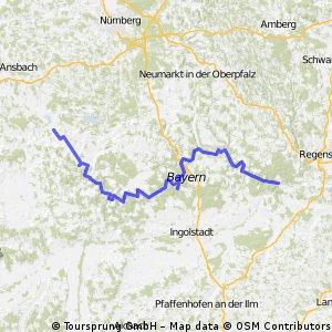 Altmühltal Radweg 2002
