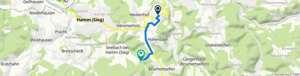 Route von Baumschulenweg 3, Roth